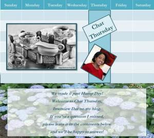 040716 - cecelia dowdy - chat thursday - banner