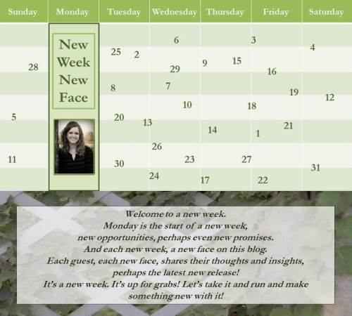 071116 - edie melson - new week new face - author banner