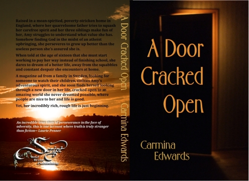 a door cracked open, cover image