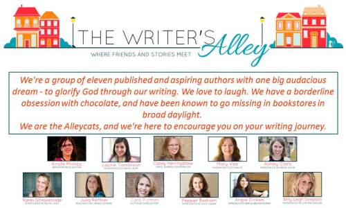 writers alley - blitz banner