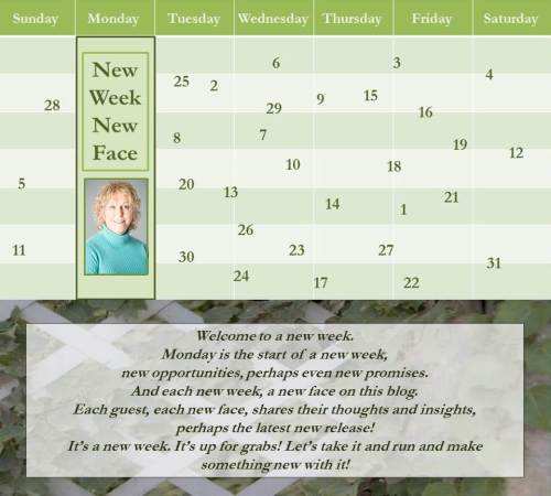062716 - carol stratton - new week new face - author banner