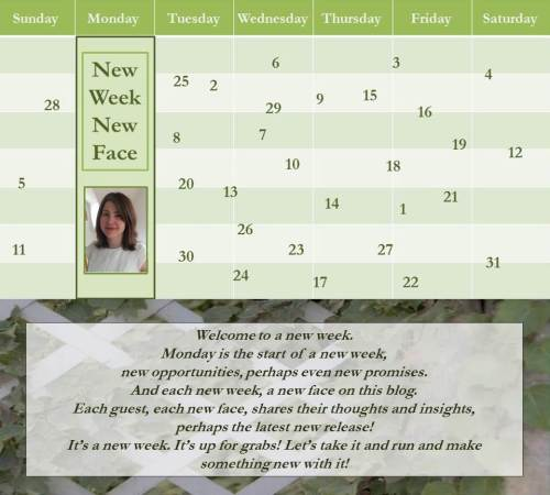 080116 - heather gilbert - new week new face - author banner