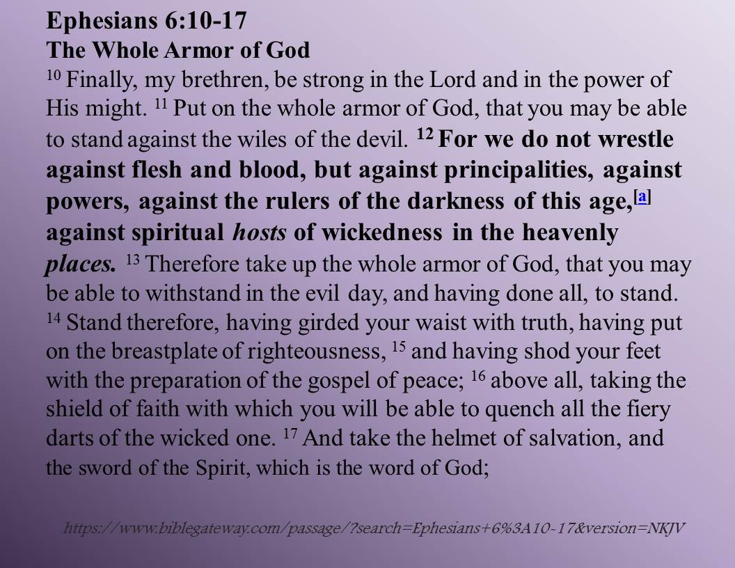 the whole armor of god robinsnest212 stories by design