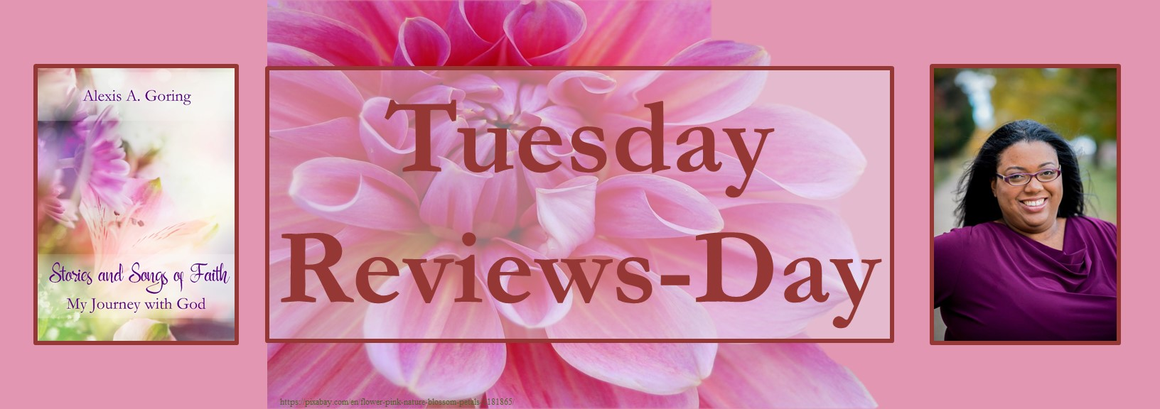 113020 - stories & songs of faith - tuesday reviews day banner