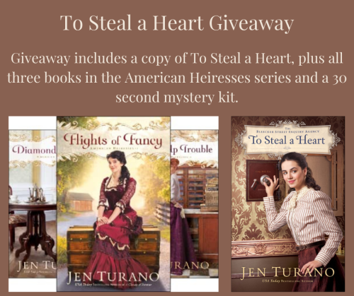 To Steal a Heart Giveaway