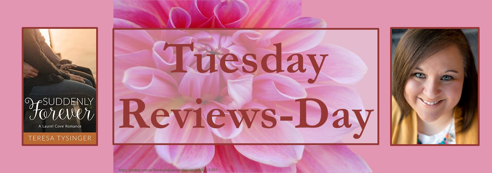 051121 - suddenly forever - tuesday reviews day banner