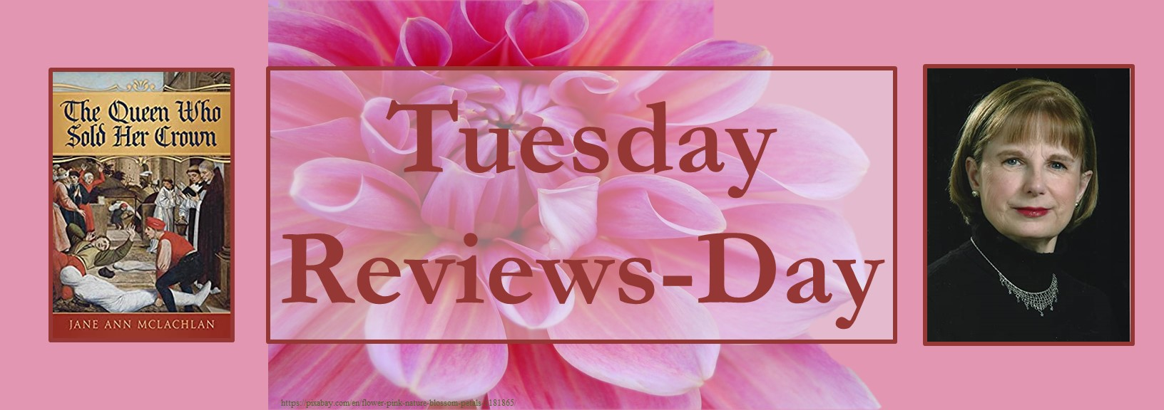 051821 - the queen who sold her crown - tuesday reviews day banner
