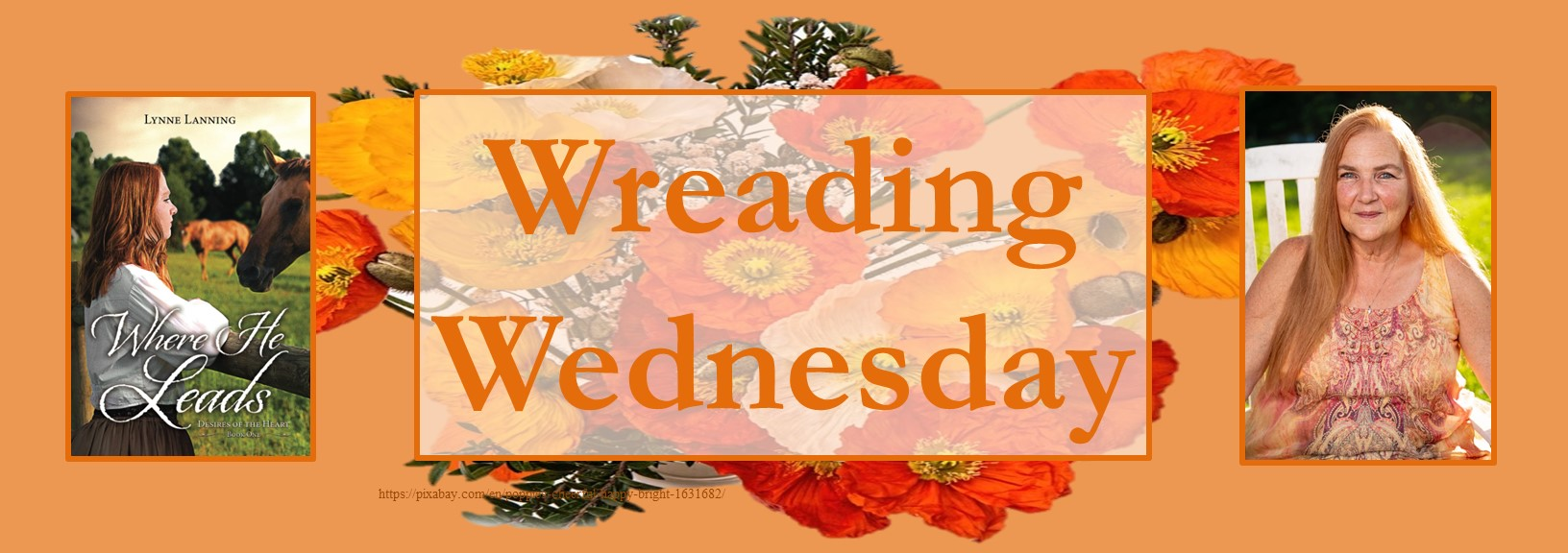 061621 - where He leads - wreading wednesday banner