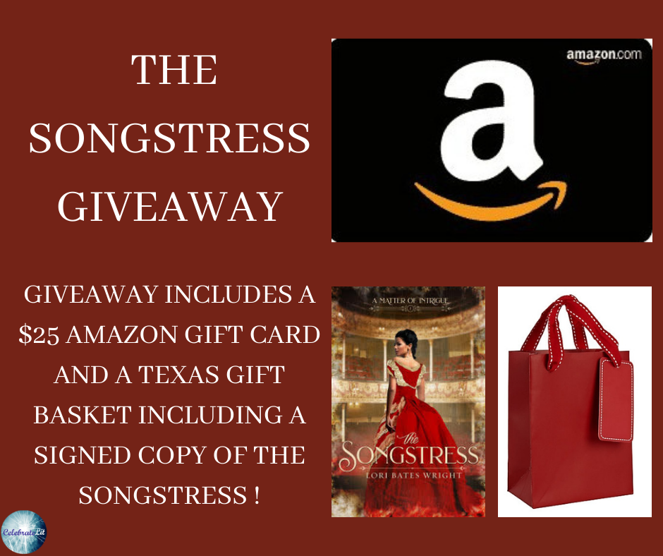 The Songstress Giveaway